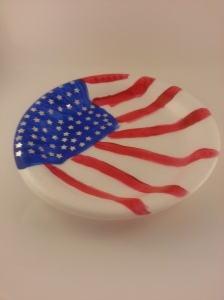 flag day plate