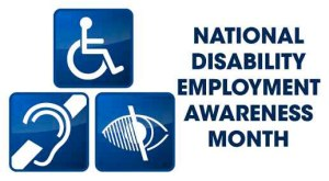 national disability month