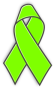 lime awarenss ribbon