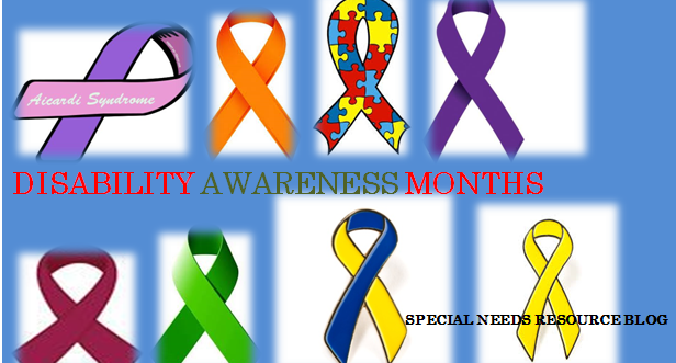 2017 Disability Awareness Month And Observances