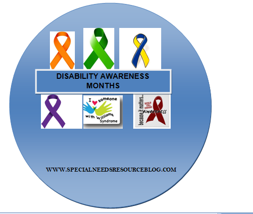 2018 disability awareness month and observances special needs